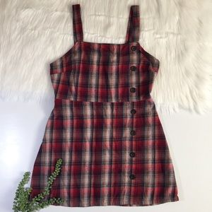 Wild Fable Plaid Flannel Dress | Size Large